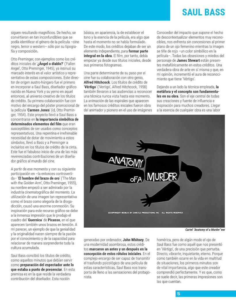Maquetación de revista 3
