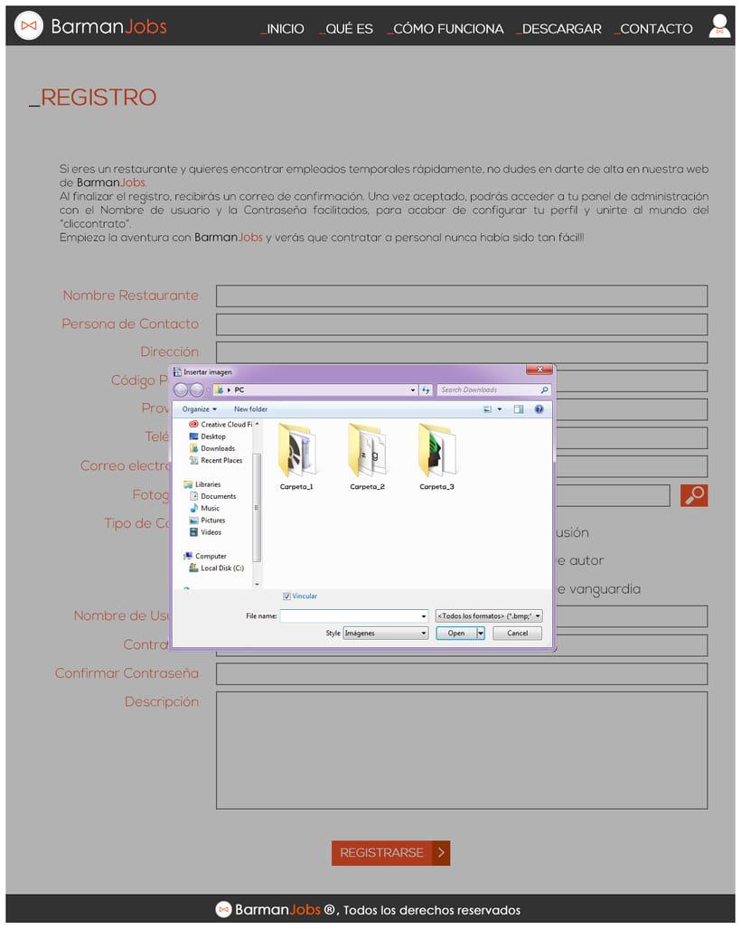 Diseño web corporativa 3