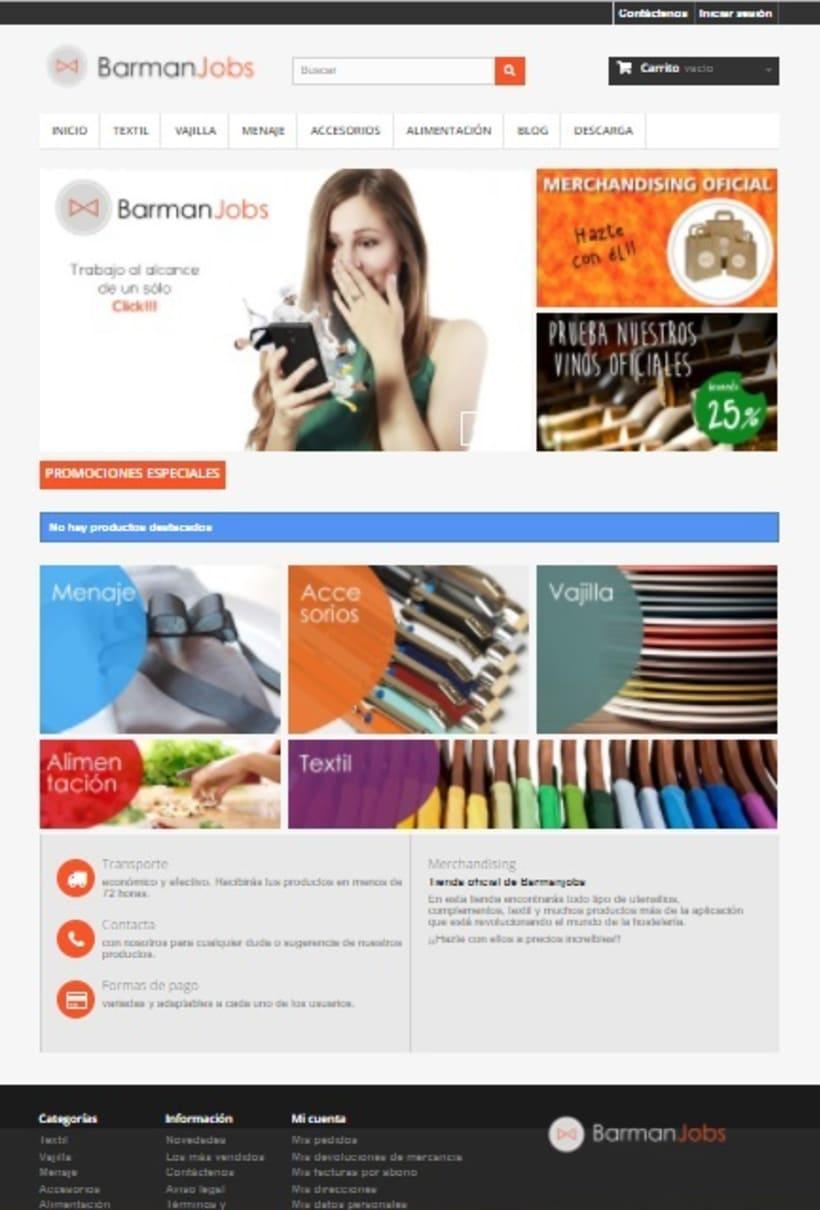 Tienda Online para la app BarmanJobs -1