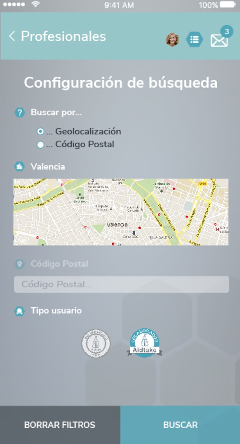 Diseño app Aidtake 7