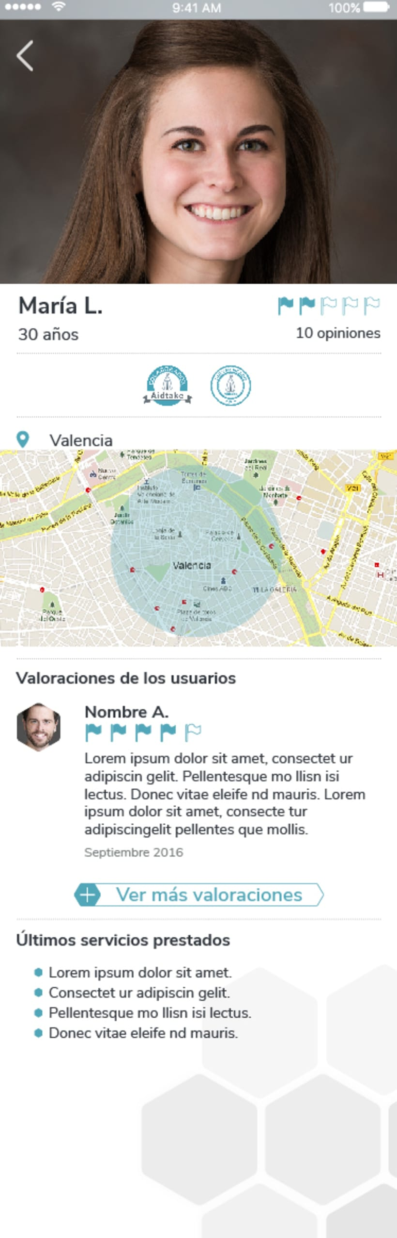 Diseño app Aidtake 19