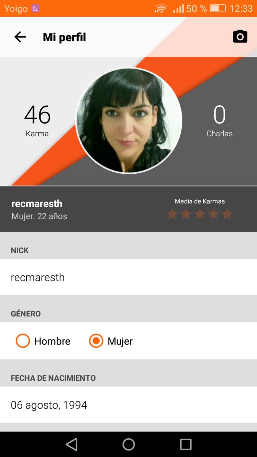 """Diseño de Aplicación """"46min"""" y publicidad on line 6"""