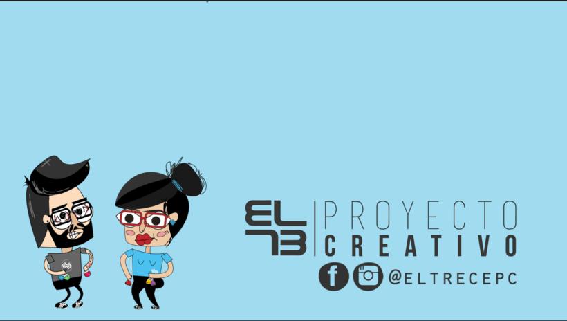 El trece Proyecto Creativo -1
