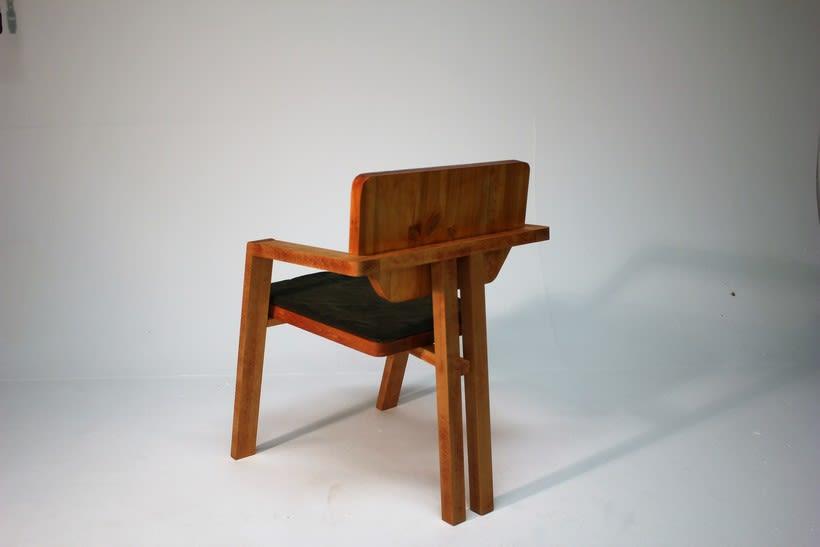 Diseño de mobiliario. Diseño de una silla confidente  -1