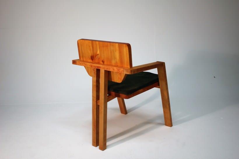 Diseño de mobiliario. Diseño de una silla confidente  0