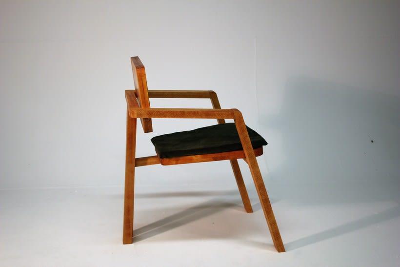 Diseño de mobiliario. Diseño de una silla confidente  1
