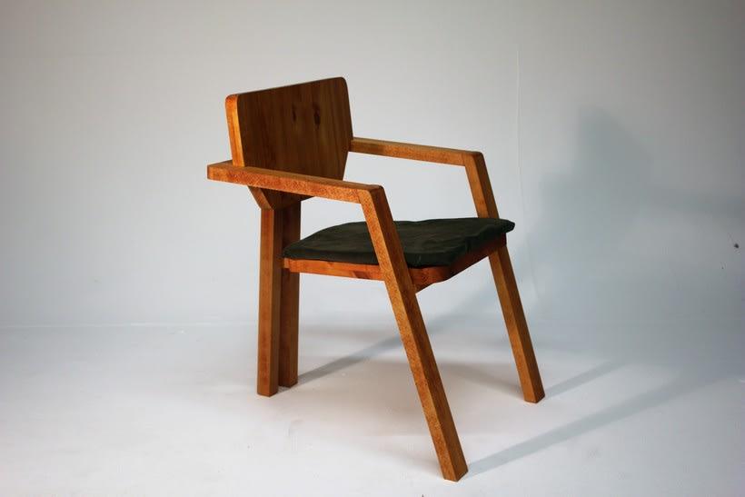 Diseño de mobiliario. Diseño de una silla confidente  2
