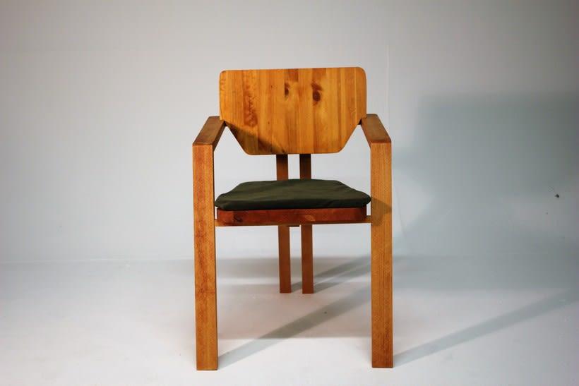 Diseño de mobiliario. Diseño de una silla confidente  3