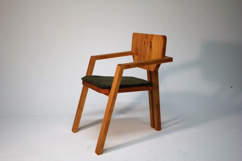 Diseño de mobiliario. Diseño de una silla confidente  4