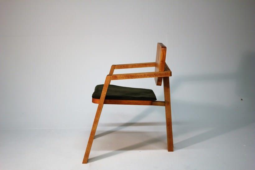 Diseño de mobiliario. Diseño de una silla confidente  5