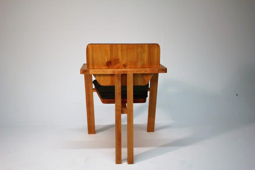 Diseño de mobiliario. Diseño de una silla confidente  6