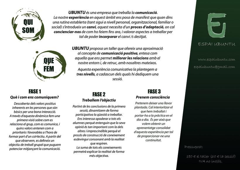 Diseño de un Currículum Vitae + Presentación de Proyectos  1