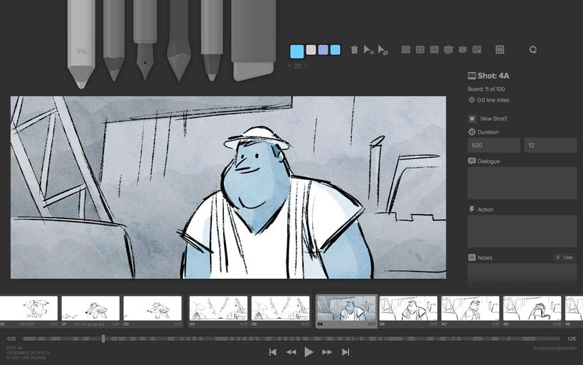 Storyboarder, software gratuito para storyboards digitales 1