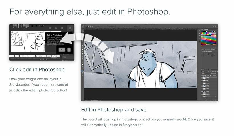 Storyboarder, software gratuito para storyboards digitales 3