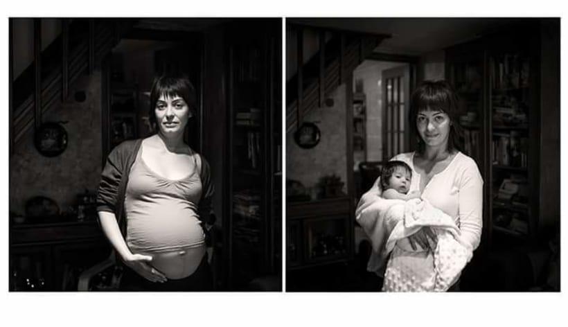 En Casa. Proyecto de retratos en blanco y negro.  -1
