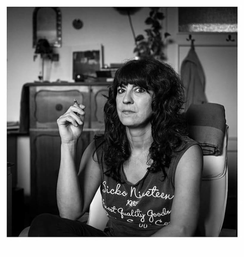 En Casa. Proyecto de retratos en blanco y negro.  1