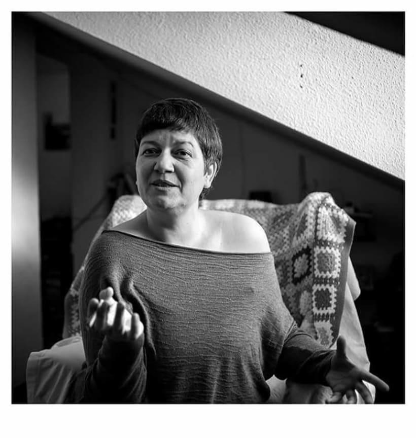 En Casa. Proyecto de retratos en blanco y negro.  2