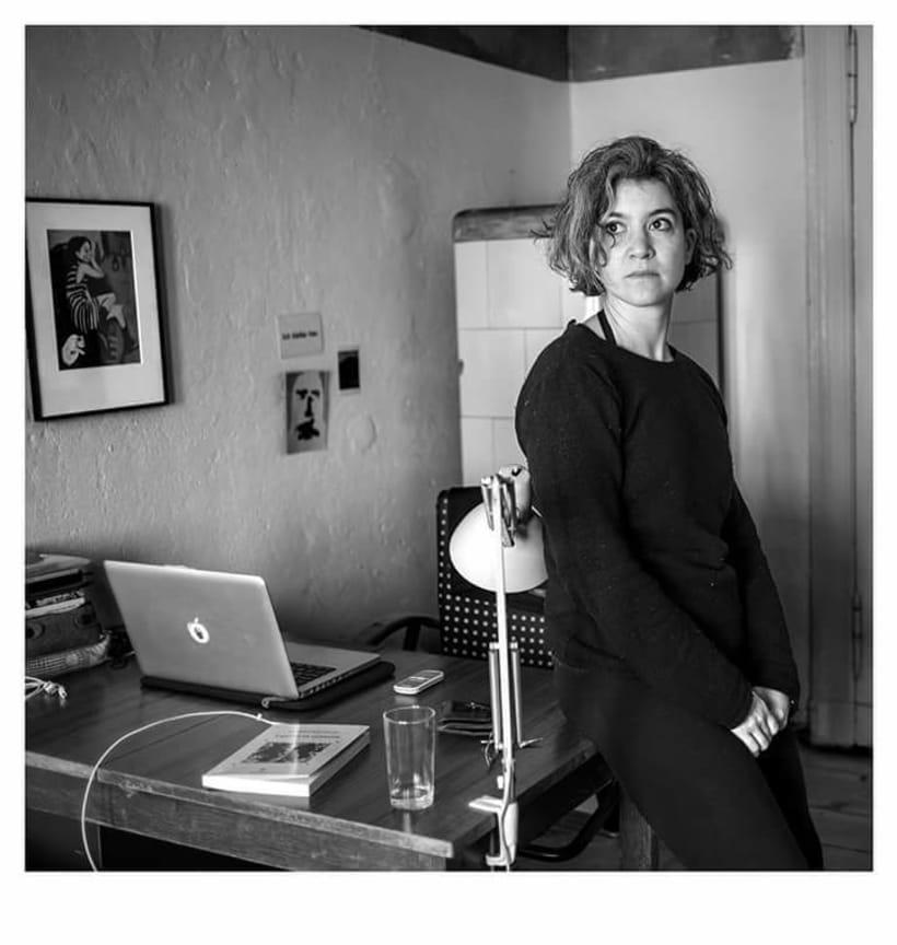 En Casa. Proyecto de retratos en blanco y negro.  4