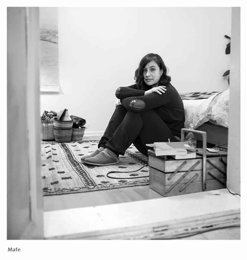 En Casa. Proyecto de retratos en blanco y negro.  5