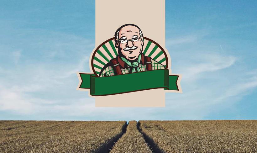 Ilustración para de marca de productos orgánicos. 4