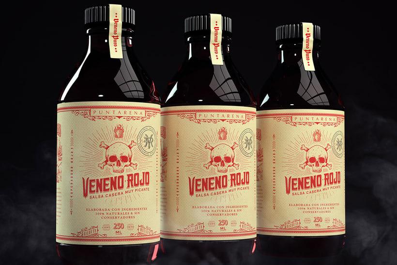 Veneno Rojo-Salsa picante 2