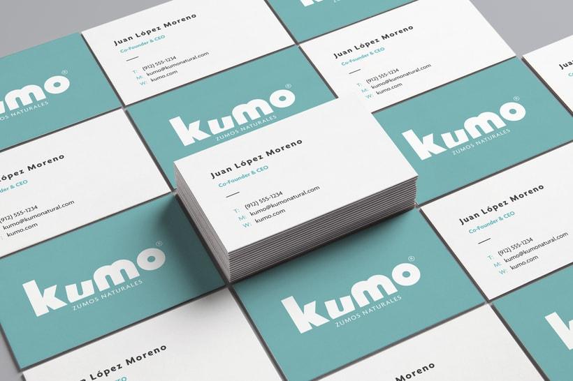 Kumo - Zumo de frutas naturales - Identidad 3