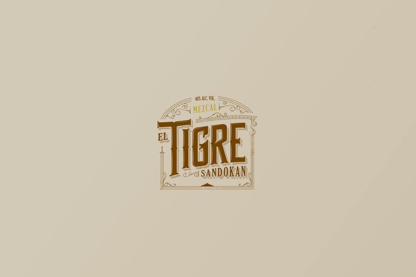 Mezcal Tigre Sandokan 1