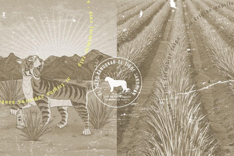Mezcal Tigre Sandokan 10