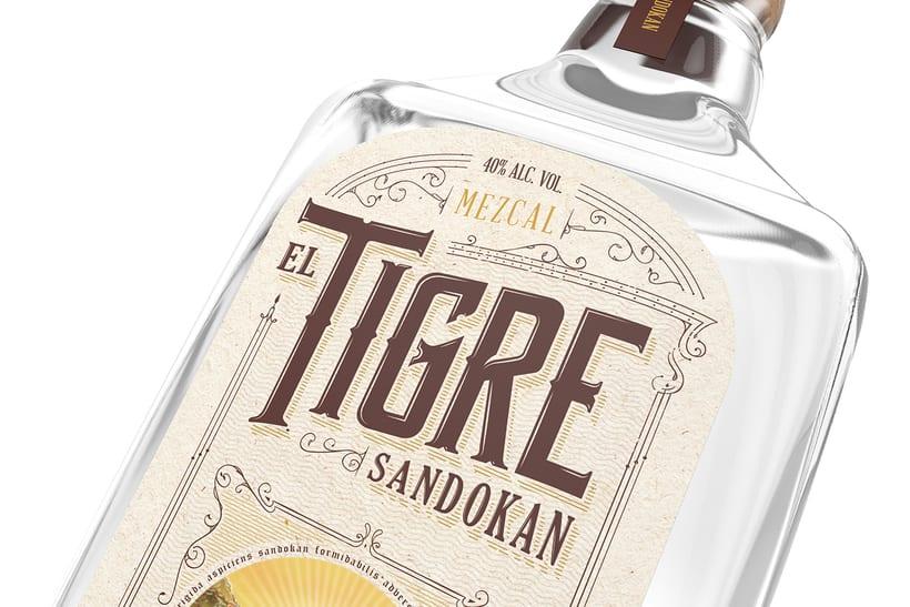 Mezcal Tigre Sandokan 5
