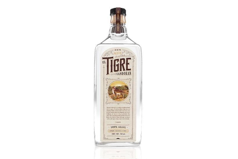 Mezcal Tigre Sandokan 3
