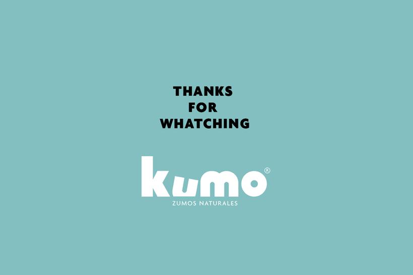 Kumo - Zumo de frutas naturales - Identidad 7