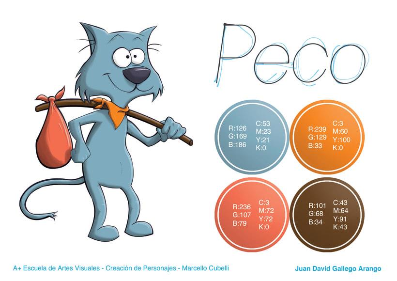 Peco - Model Sheet -1