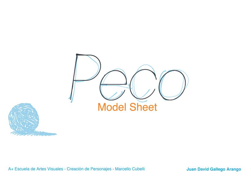 Peco - Model Sheet 0