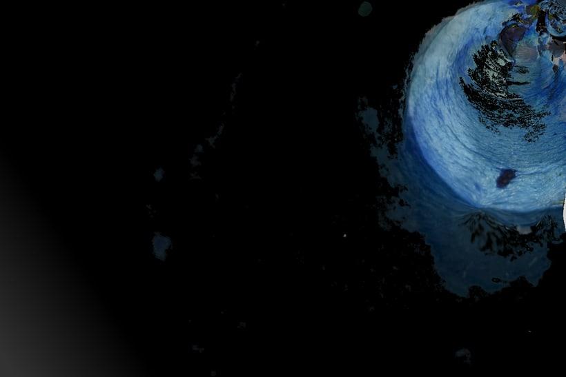 """""""Planetas"""" (Técnica mixta) 1"""