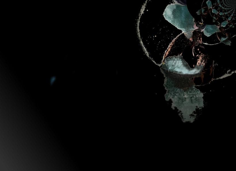 """""""Planetas"""" (Técnica mixta) 2"""