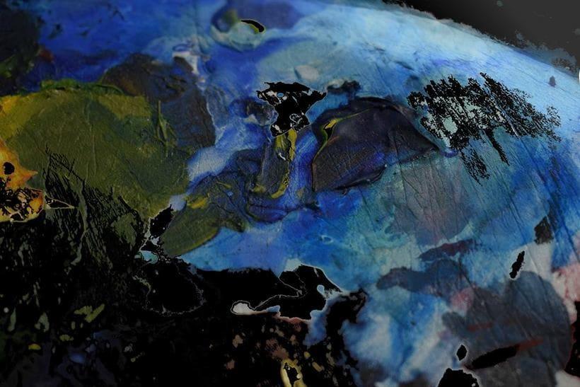 """""""Planetas"""" (Técnica mixta) 4"""