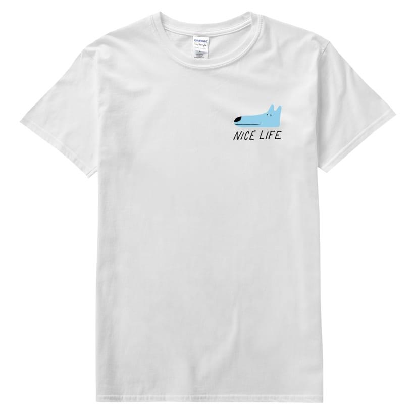 Nice Life T-shirt, Everpress, UK 2