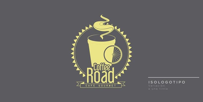 COFFEE ROAD /  Branding 2