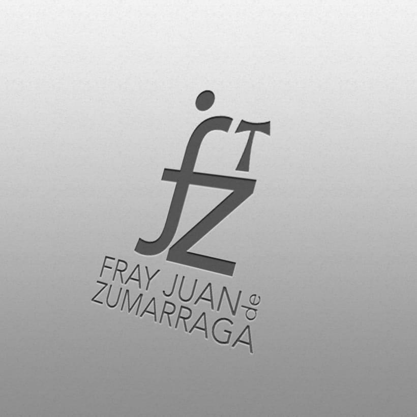 Propuesta renovación logotipo Instituto Fray Juan de Zumarraga 2