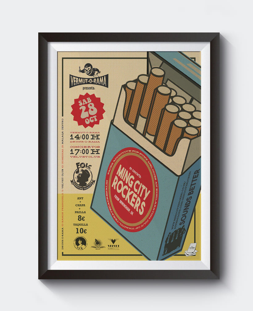 MING CITY ROCKERS vermut-o-rama poster 5