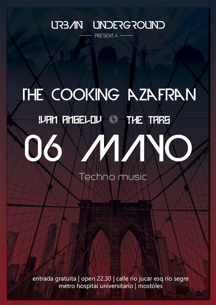 Cooking Azafran Party 0
