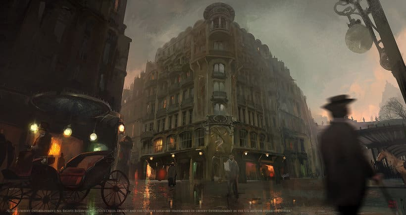 Assassin´s Creed : Unity Concept Art 2