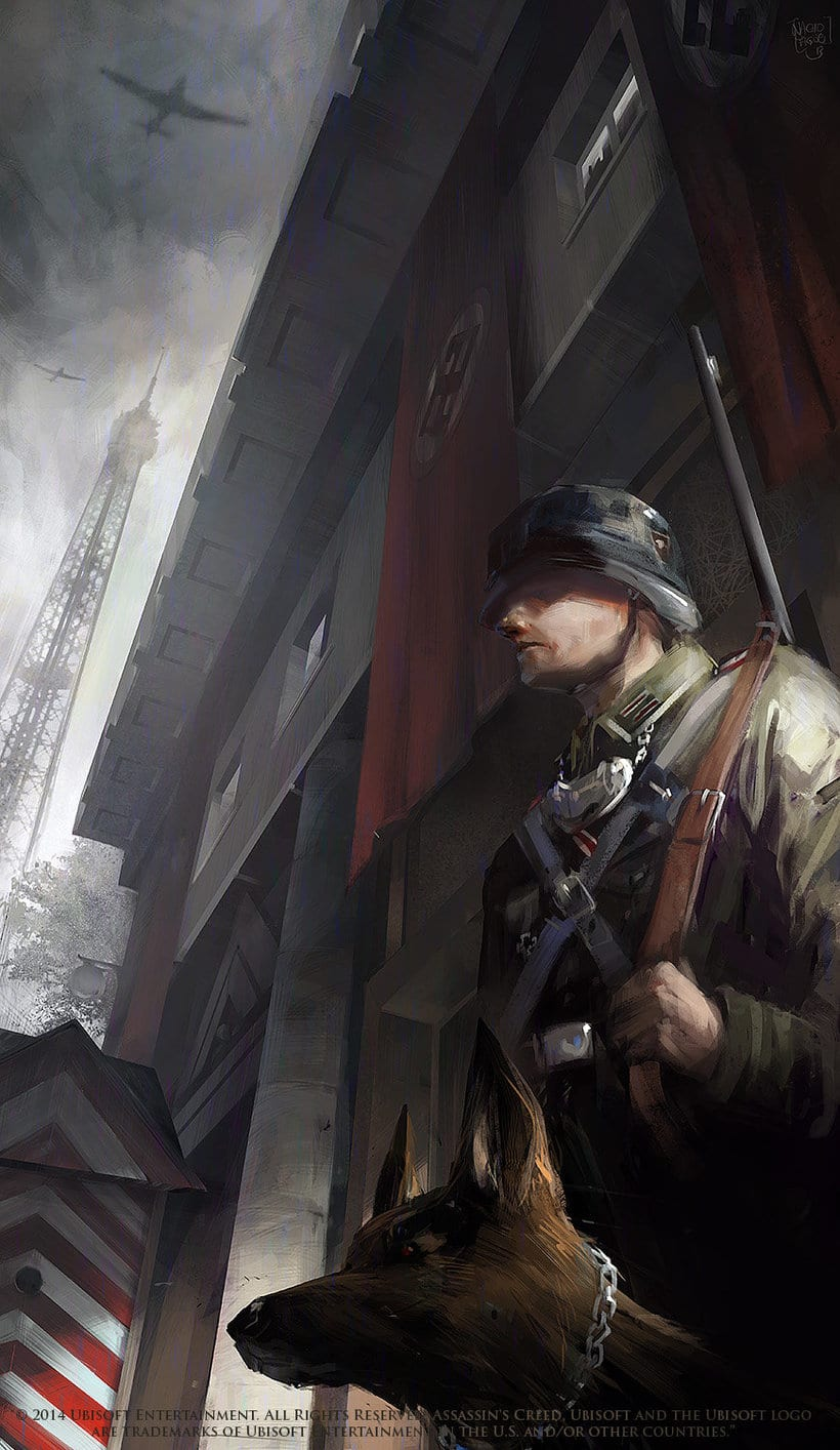 Assassin´s Creed : Unity Concept Art 5