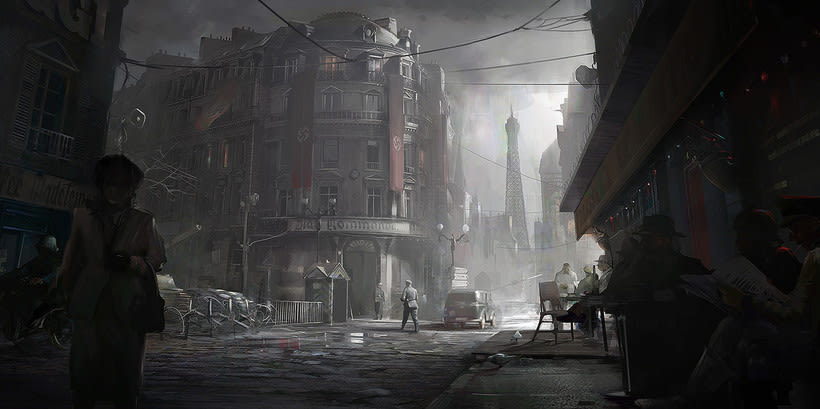 Assassin´s Creed : Unity Concept Art 6