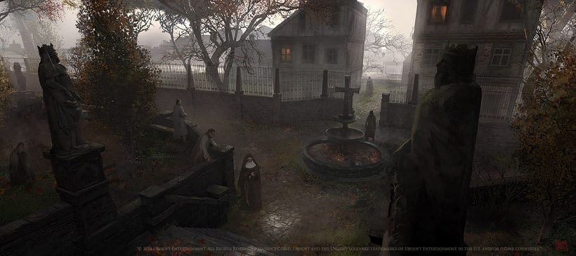 Assassin´s Creed : Unity Concept Art 7