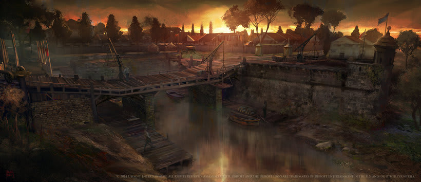 Assassin´s Creed : Unity Concept Art 9