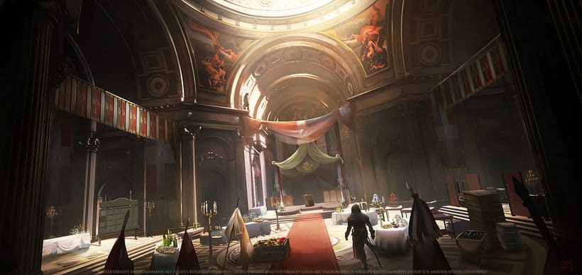 Assassin´s Creed : Unity Concept Art 10