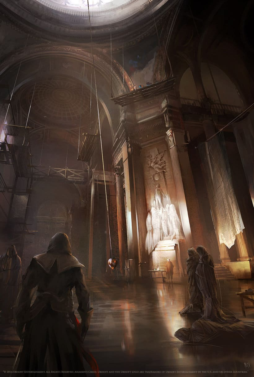 Assassin´s Creed : Unity Concept Art 14