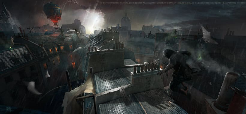 Assassin´s Creed : Unity Concept Art 15
