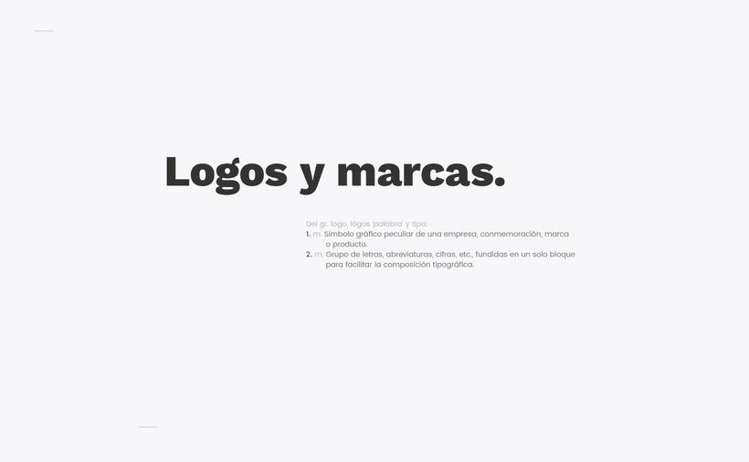 Logos y marcas. -1